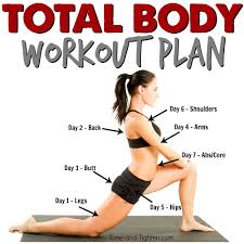 Home Yoga Routine by Total Body Workout Plan At Home Exercise Routine Advanced