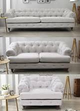 Chesterfield Sofa White White Chesterfield Sofas Ebay