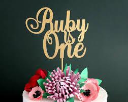 Birthday Cake Toppers Name Cake Topper Etsy