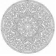 color colouring pages mandala