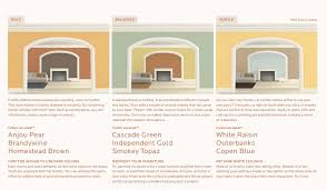 woodbine ravenna paint color palette