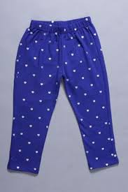 buy mavie girls printed royal blue leggings online india best
