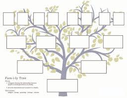printable free family tree template printable family tree blank family tree template free 3 generation