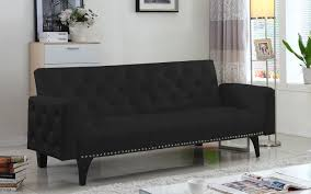 gaby modern tufted sleeper futon products modern and futons