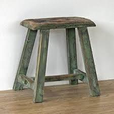 reclaimed wood short stool amazon co uk kitchen u0026 home