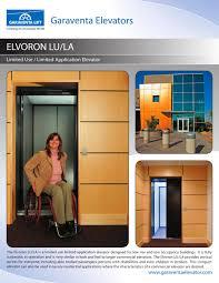 Garaventa Stair Lift by Elvoron Lula Elevator Brochure Garaventa Pdf Catalogues