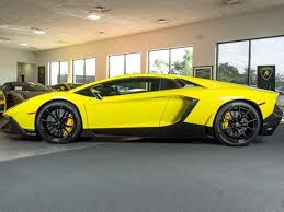 yellow lamborghini aventador for sale beautiful lamborghini aventador 50th anniversary is up for sale