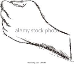 make a fist stock vector images alamy