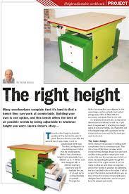 adjustable height workbench plans u2022 woodarchivist