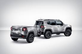 jeep renegade comanche pickup concept jeep renegade hard steel concept photo gallery autoblog