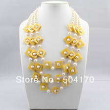 shell pearl necklace wholesale images Hot sale round natural tiger eye stone necklace 3 strands mother jpg