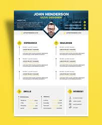 ui design cv free creative resume cv design template for ui ux designer psd
