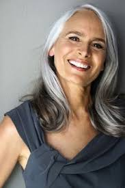 grey highlights on dark hair google search hairstyles