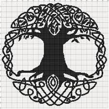 filet crochet pattern celtic tree jsahosg crochet and knit