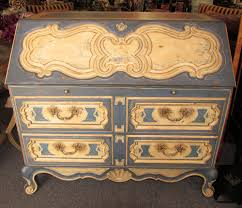 Shabby Chic Secretary Desk by Encore Furniture Gallery Century Louis Xv French Country Hand