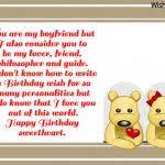 messages to write in boyfriends birthday card best 20 birthday