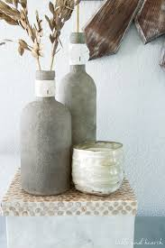 Sand Vase How To Make Sand Covered Bottles Monthly Diy Challenge Table