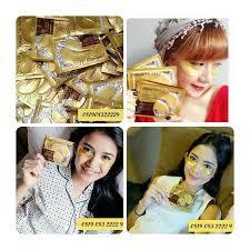 Jual Masker Mata Collagen Di Surabaya gold eye collagen mask masker mata daftar harga terbaru