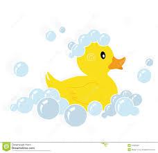 duck bubbles baby shower clipart