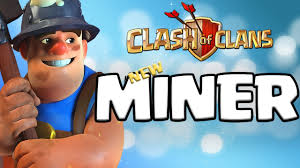 clash of clans new troops miner and baby dragon attack coc
