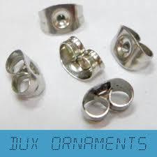 ez release earring remover 1000pcs 18k gold silver rhodium butterfly back stoppers earrings