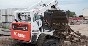 contractor feeds desire for horsepower with bobcat t595s and