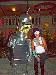 Bender Halloween Costume Bender U0026 Leela Futurama Costumes Costume Pop