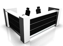 Black Reception Desk L Shaped Reception Desk From Valde 1930mm X 1930mm Online Reality