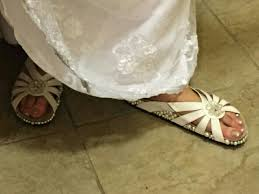 wedding shoes cork wedding shoes birkenstocks with pearls added to cork section