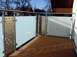 balkon gitter terrassengeländer terrasen gelender stahl niro balkon