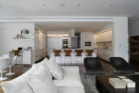 interior design kitchen living room living room and kitchen of modern interior design for big house