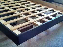 bed frame make floating bed frame tension series floating make