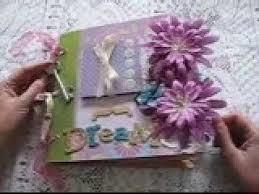 Handmade Scrapbook Albums Handmade Scrapbook Album Premade Pages Youtube
