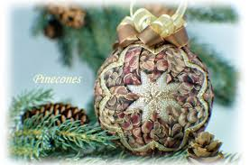 pinecones quilted ornament kit