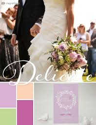 2018 wedding color trends spring summer fall winter