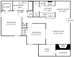 landmark at glenview reserve apartment homes floor plans