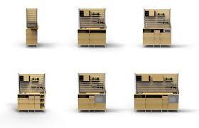 modulare k che kleine räume modulare küche mk fakultät für design der