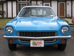 1976 chevy vega car picker blue chevrolet vega