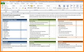 7 financial planning worksheets monthly bills template