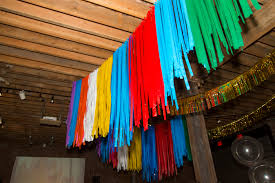 Marriage Home Decoration Decorating With Ribbon Use Flagging Tape Instead A Practical