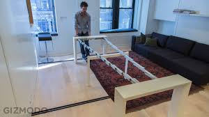 dining tables for small spaces that expand 11 tiny house expanding dining table tiny houses dining and small