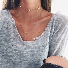 silver pendant choker necklace images 15 ways to wear layered necklace like a pro jpg