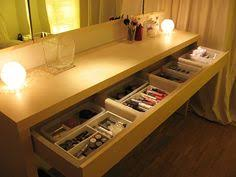Ikea Malm Vanity Table Ikea Malm Dressing Table Put A Large Photo Under The Glass Top