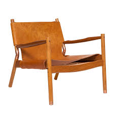Folding Chair Leather High Back Cabourn Folding Chair In Leather Contemporary