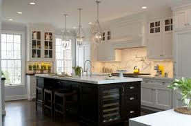 white kitchen black island and white kitchen cabinets kitchen and decor