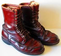 s boots 30 vintage 30 s 40 s wolverine horsehide leather shell boots sz10
