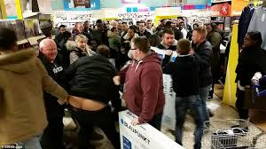 best deals in stores for black friday black friday turns violent as shoppers fight over bargains daily