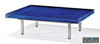 table bleue u2013 contemporary art as modern luxury furniture
