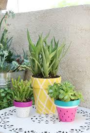 decoration avec des pots en terre cuite 1001 idées et tutoriels de bricolage facile d u0027été et d u0027autres