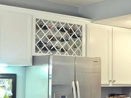 kitchen cabinet wine rack ideas wine rack wine rack diy above fridge wooden wine rack kitchen